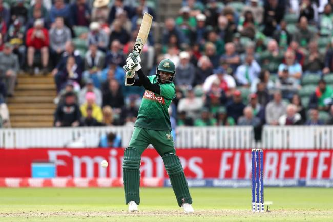 Bangladesh's Shakib Al Hasan scored an unbeaten 124 in their seven-wicket win against the West Indies