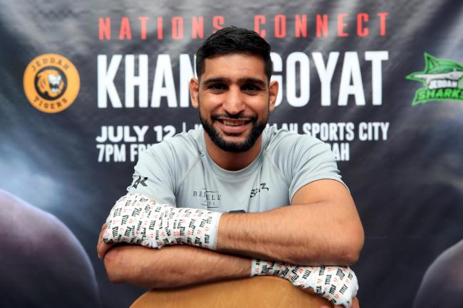 Amir Khan will face Billy Dib after original opponent Neeraj Goyat was injured in a car crash