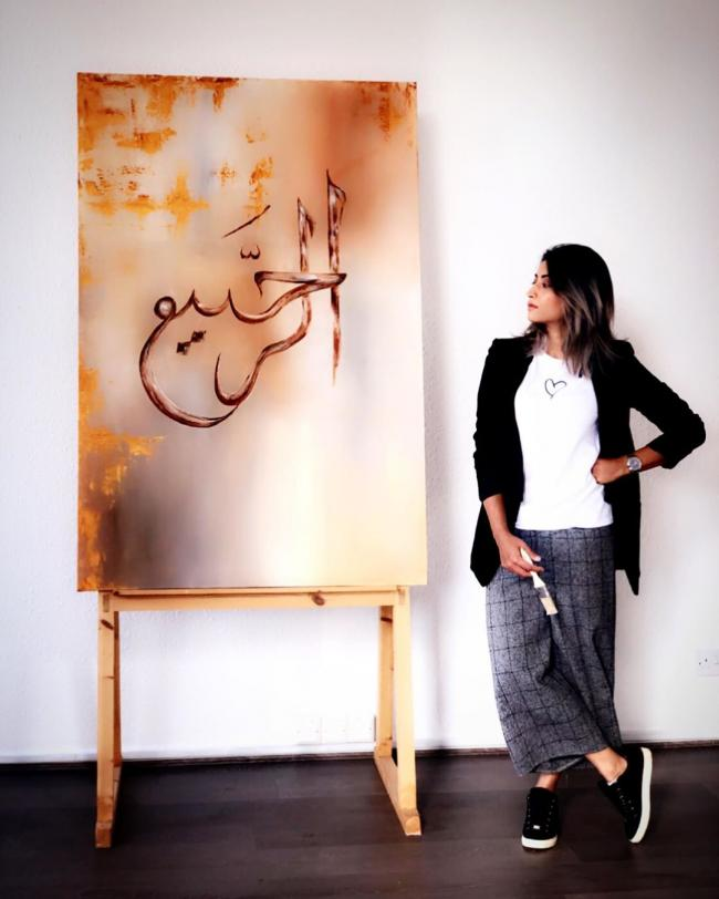 Meet Sumera Asghar, the national league basketball player who is now an acclaimed artist