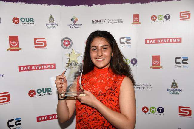 Manchester swimmer wins SKT Welfare Achievement in Sport Award
