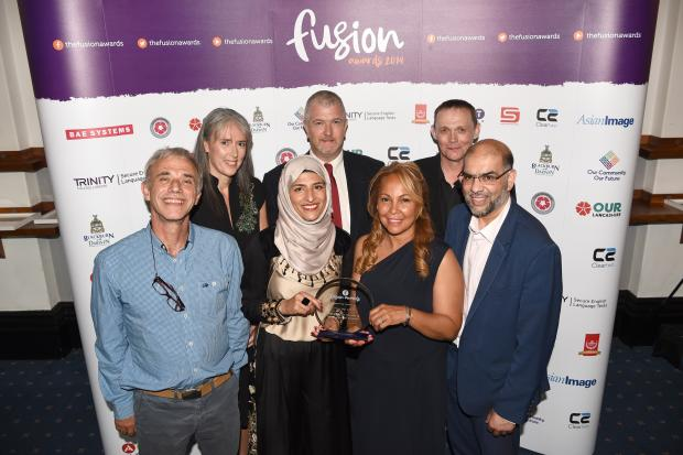 Stand Up to Racism  and Unite Against Fascism honoured at Fusion 2019