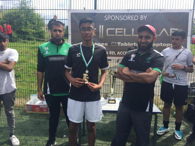 Hundreds turn out to Bahja Initiative Junior Football Tournament