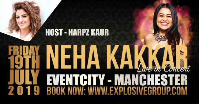 Presenter Harpz to host Neha Kakkar concert in Manchester