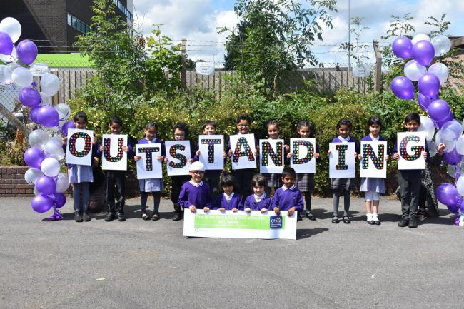 Olive School judged 'outstanding' in first Ofsted inspection