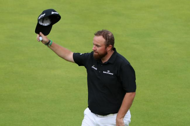 Shane Lowry takes a four-shot lead into the final round of the Open