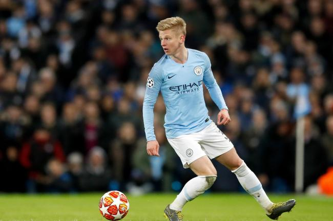 Oleksandr Zinchenko has paid tribute to the support he received from Vincent Kompany