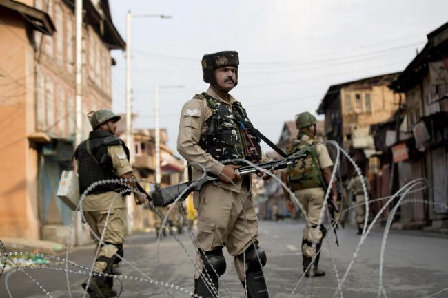 Curfew in Srinagar