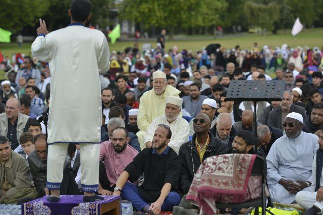 THOUSANDS turn out to celebrate Eid al-Adha festival in Brighton