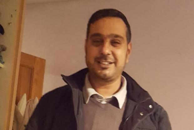 Asian Image: Sajed Choudry, who was attacked in Blackburn in November 2018