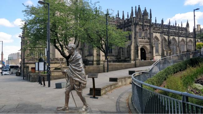 Plans for Mahatma Gandhi Statue in Manchester are approved