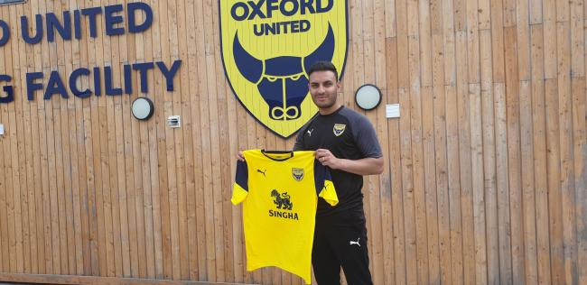 Kash Siddiqi is due to start training with Oxford United shortly 	 Picture: OUFC