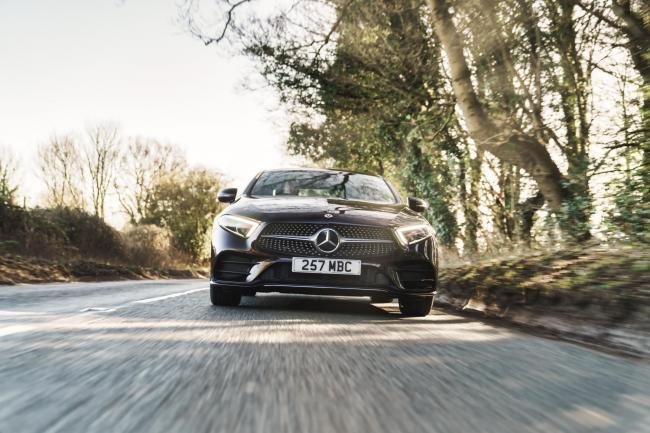 Mercedes CLS:  'Power, pace and luxury'
