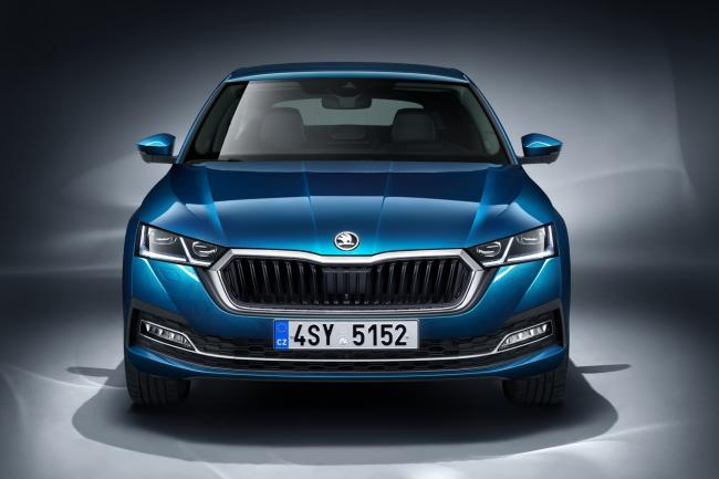 The Skoda Octavia  makes a grand entrance in Prague