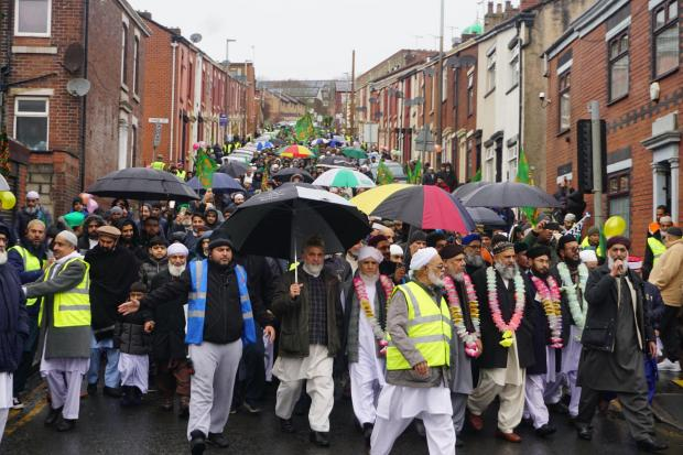 Thousands at annual Milaad procession