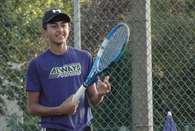 International call up for teenage tennis player
