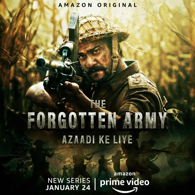 Watch: Trailer to new Amazon Original series - 'The Forgotten Army'