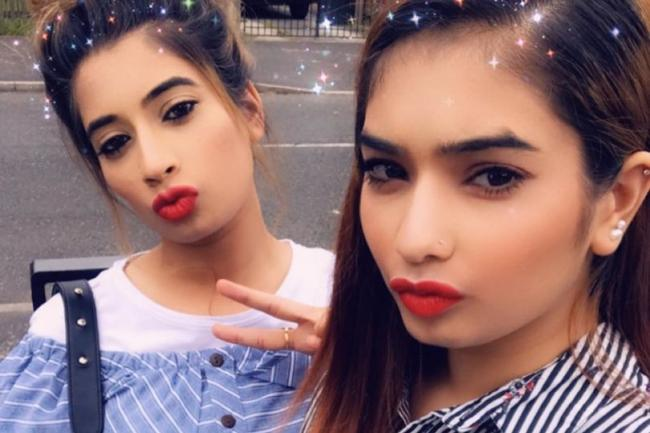 Maria and Nadia Rehman from Preston (Instagram)