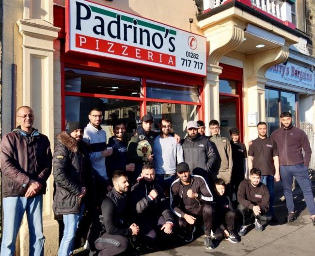 Pro Cage fighter invited to youth event at restaurant