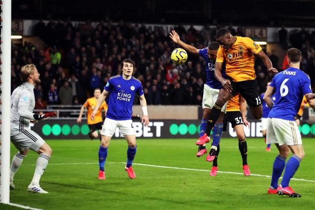 Willy Boly's opener for Wolves was disallowed by VAR
