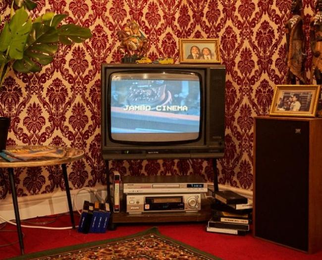 Step back in time into the Asian living room of eighties