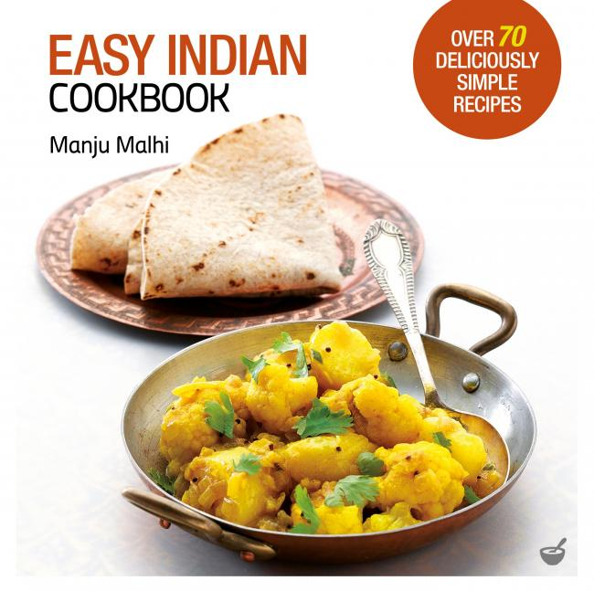 Easy Indian Cookbook by Manju Malhi