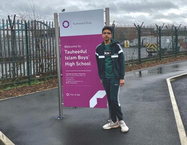 Teenager delivers cancer awareness talk at school