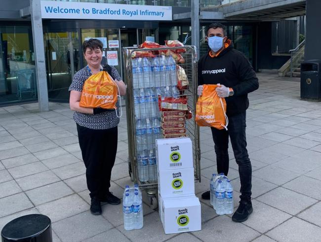 Penny Appeal partners with Regal Foods to donate food to NHS staff