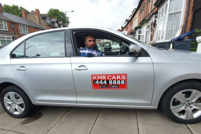 Taxi driver racially abused