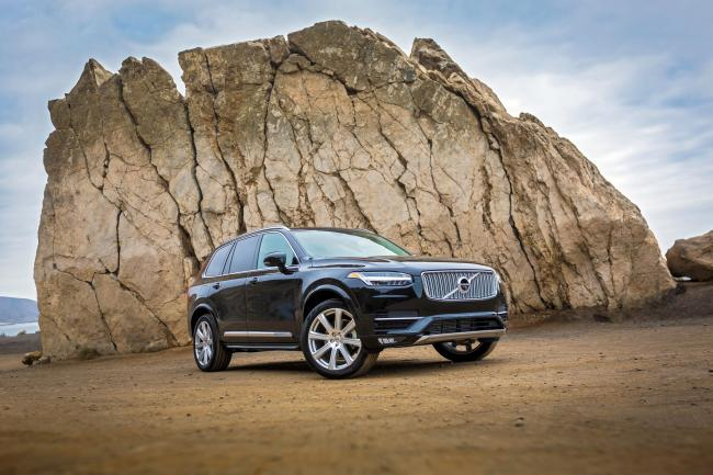 Volvo XC90: New technology and a new-look makes for 'a handsome hunk of a motor'