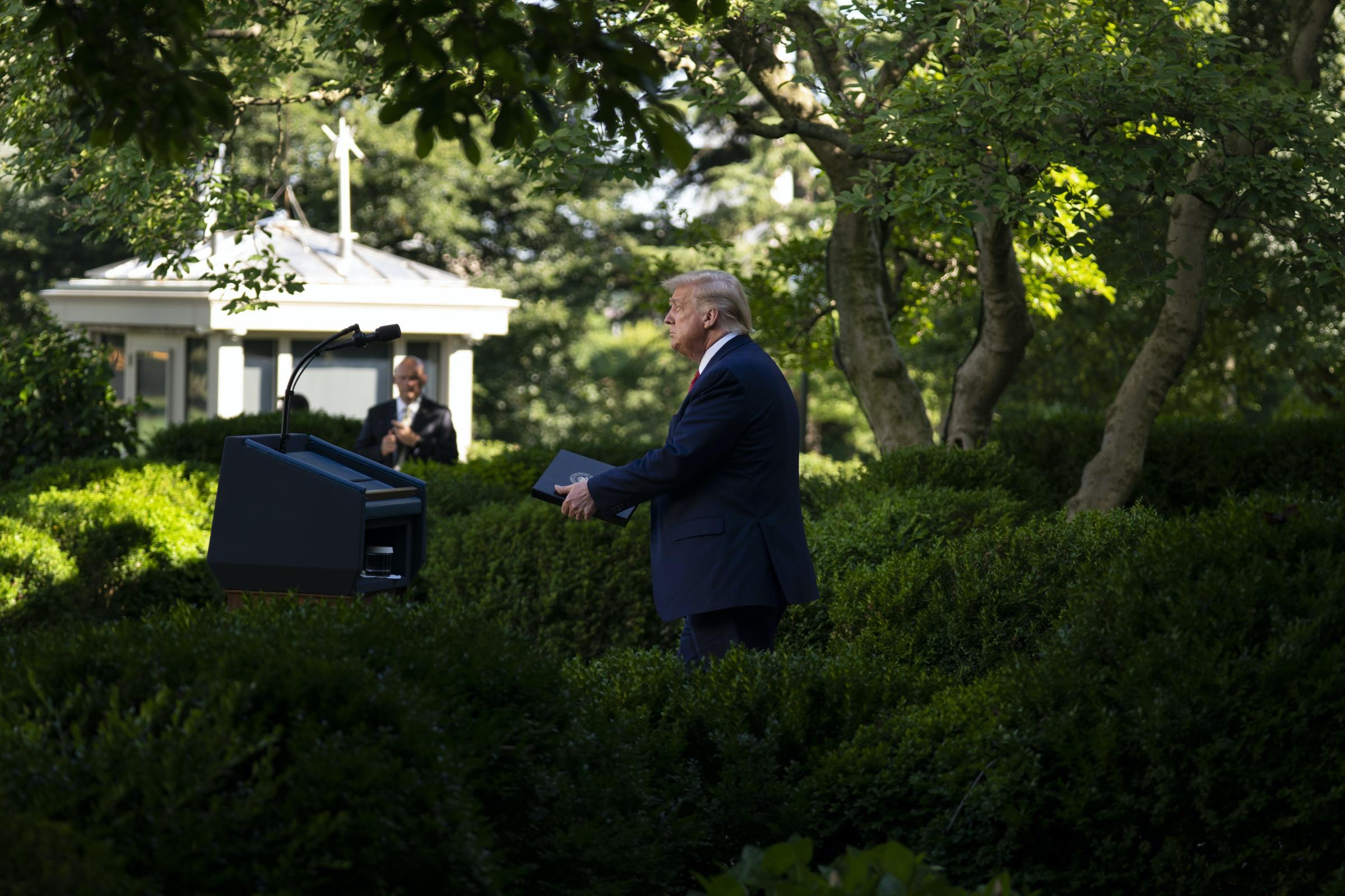 www.asianimage.co.uk: Melania Trump announces makeover for White House Rose Garden
