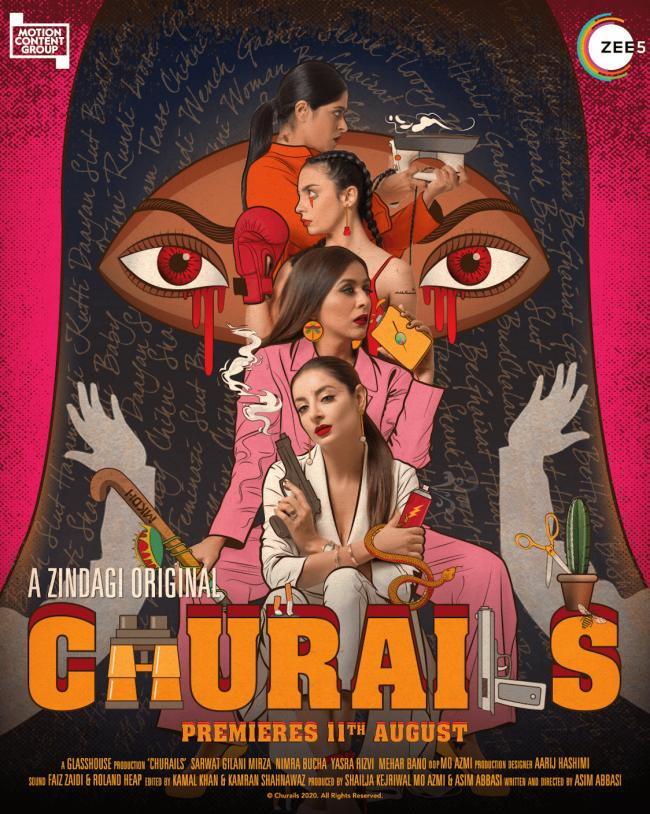 Zindagi original: 'Churails' available from August 11