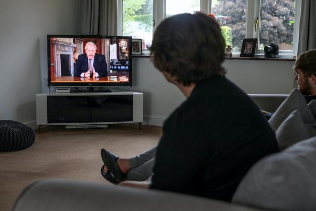 Broadcast television viewing surged during lockdown