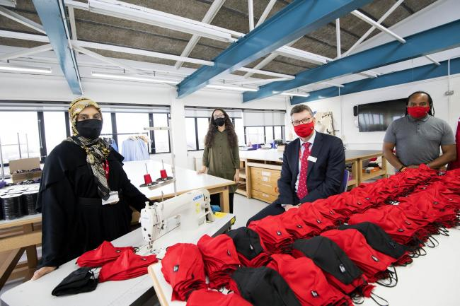 UCLan staff to produce 30,000 washable face coverings ahead of restart