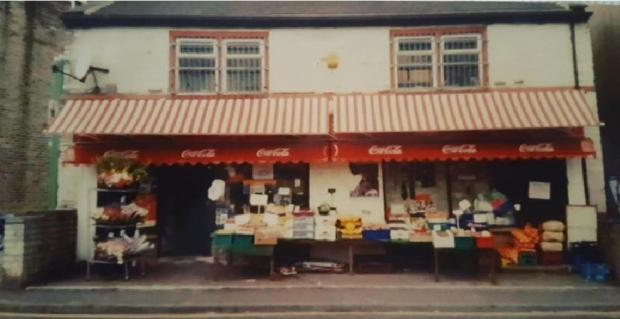 Asian Image: The Pervez family's corner shop on Lumb Lane in the 1980s