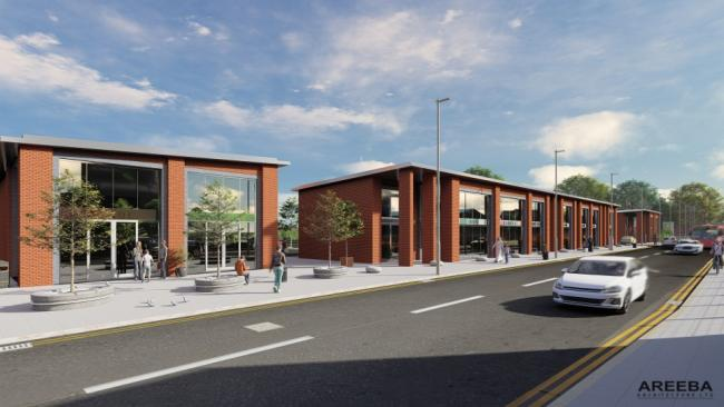 Plans for a new development on Whalley New Road have been announced (Areeba Architecture Ltd)