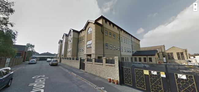 Darul Uloom Dawatul Imaan Boarding School, in Harry Street off Wakefield Road. Pic: Google Street View