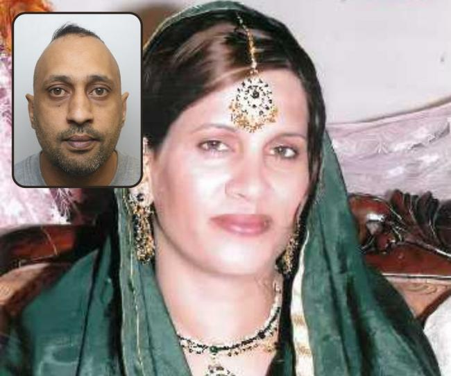 Abida Karim, 39, who was brutally murdered by her violent abusive husband Sajid Pervez at the family's home in September