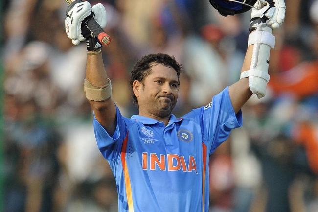 Sachin Tendulkar was the first batsman to score 200 in a one-day international