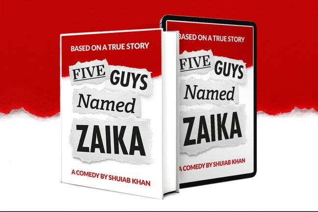 'Five Guys Named Zaika' A northern comedy published