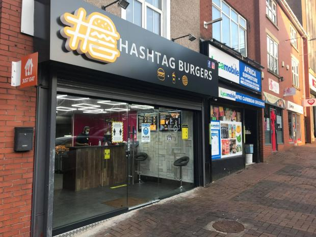 Asian Image: Hashtag Burgers on Bridge Street, Bolton