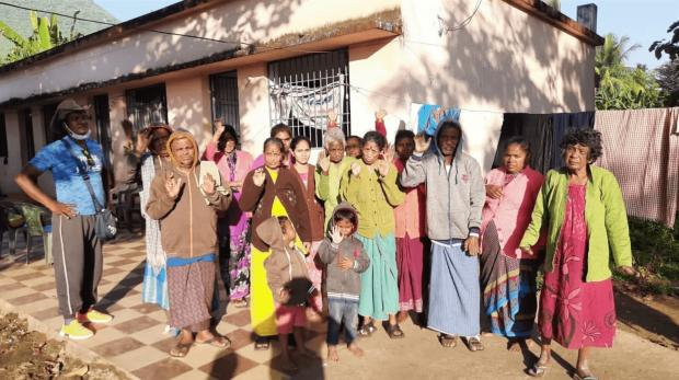 Asian Image: The leper colony in Paralakhemundi