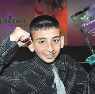 Knockout Sahir, 14 collects top award