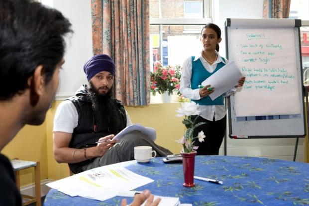 'It's not race, it's faith,' says Muslim and Sikh interfaith project