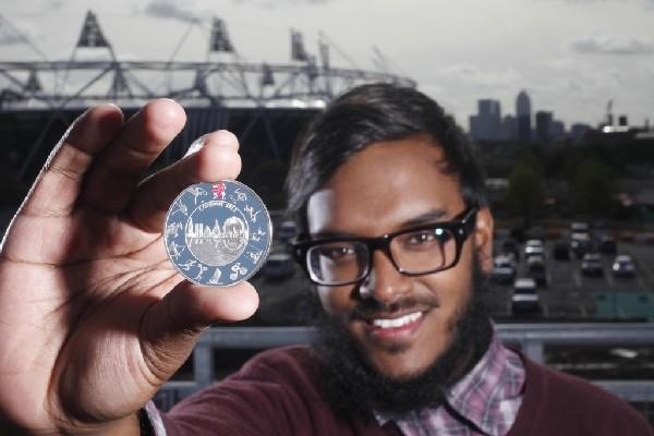 Saiman Miah design chosen for Olympic coins