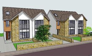 Asian Image: MODERN An artist's impression of the houses