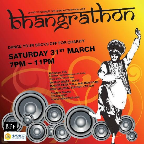 Dance your socks off at Bhangrathon!