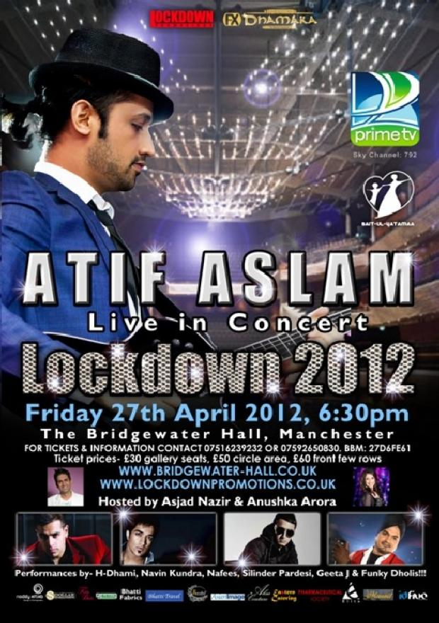Asian Image: Win tickets to Atif Aslam concert