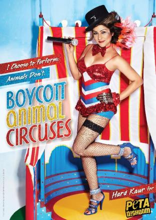 Hard Kaur speaks out against animal cruelty