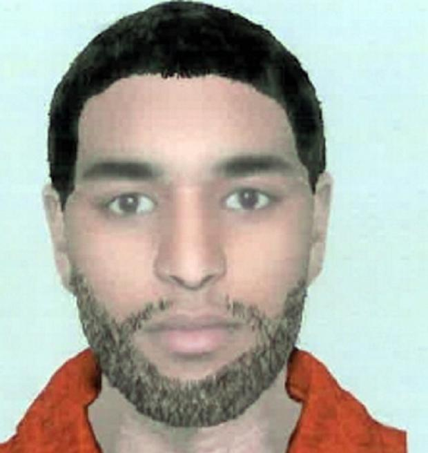 The e-fit of the robbery suspect
