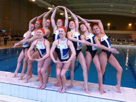 Team GB's synchronised swimming squad, selected to compete at the London 2012 Olympic Games...